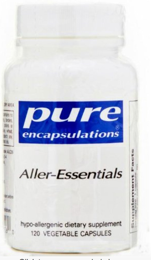Best allergy support supplement