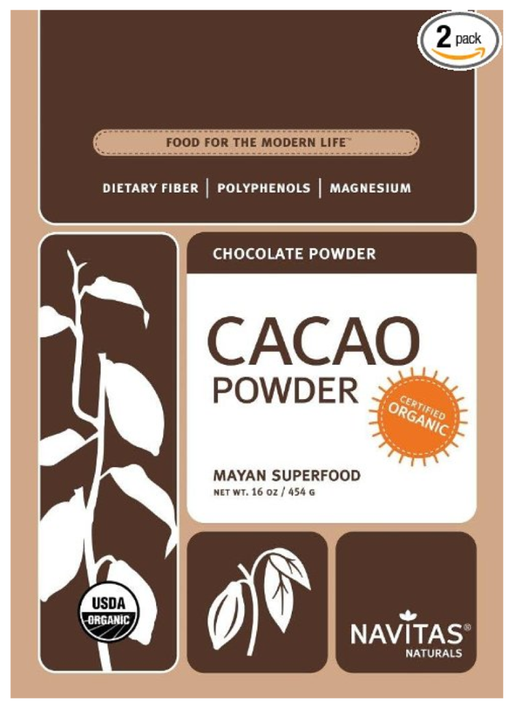 Raw cacao powder by navitas naturals