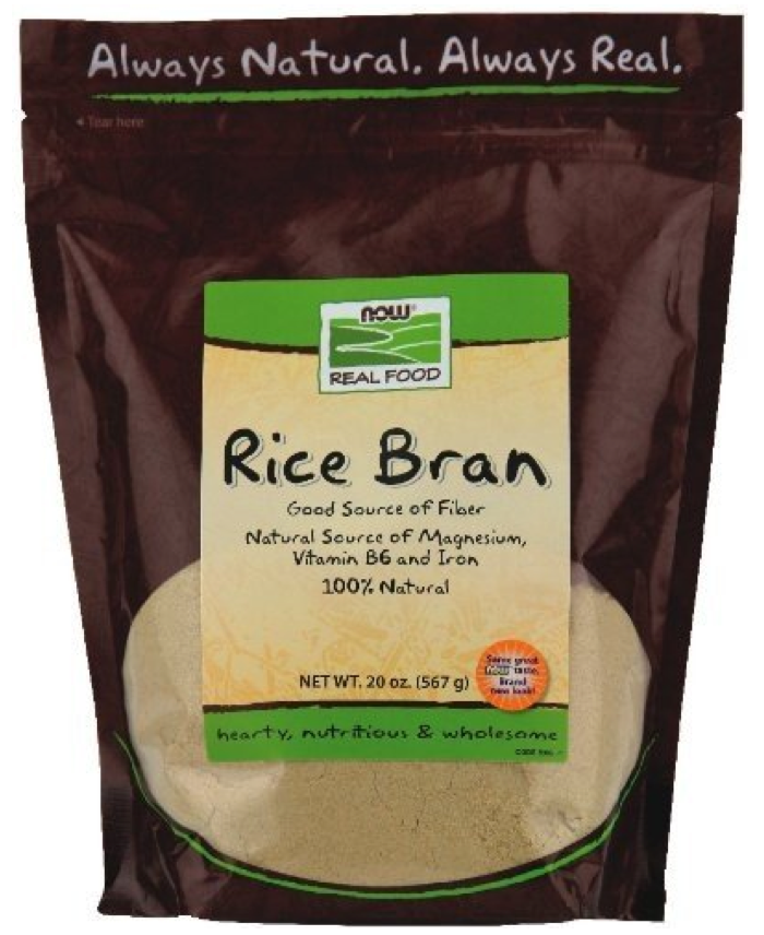 Rice Bran by NOW foods
