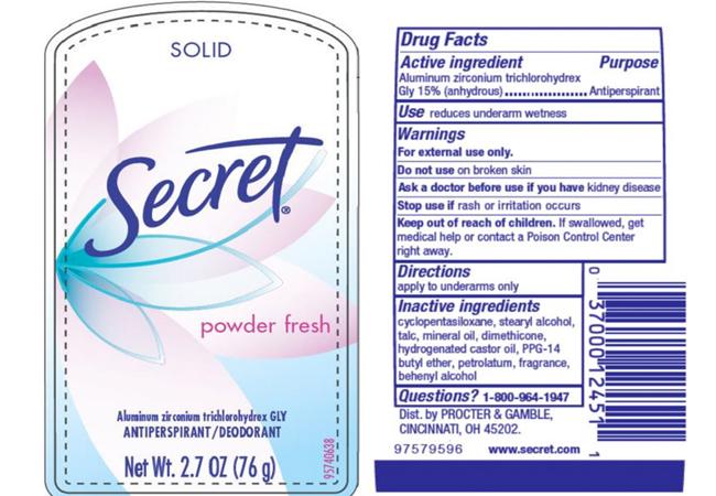 harmful-chemicals-in-deodorant-antiperspirant-secret