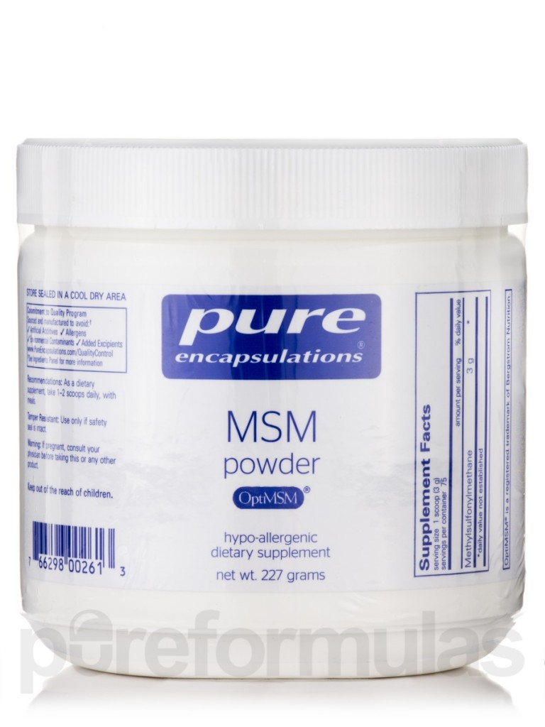 the best MSM powder