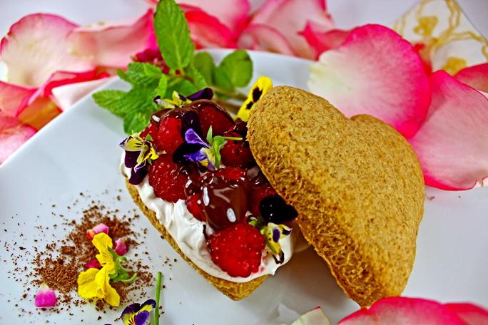 Vegan Raspberry Shortcake