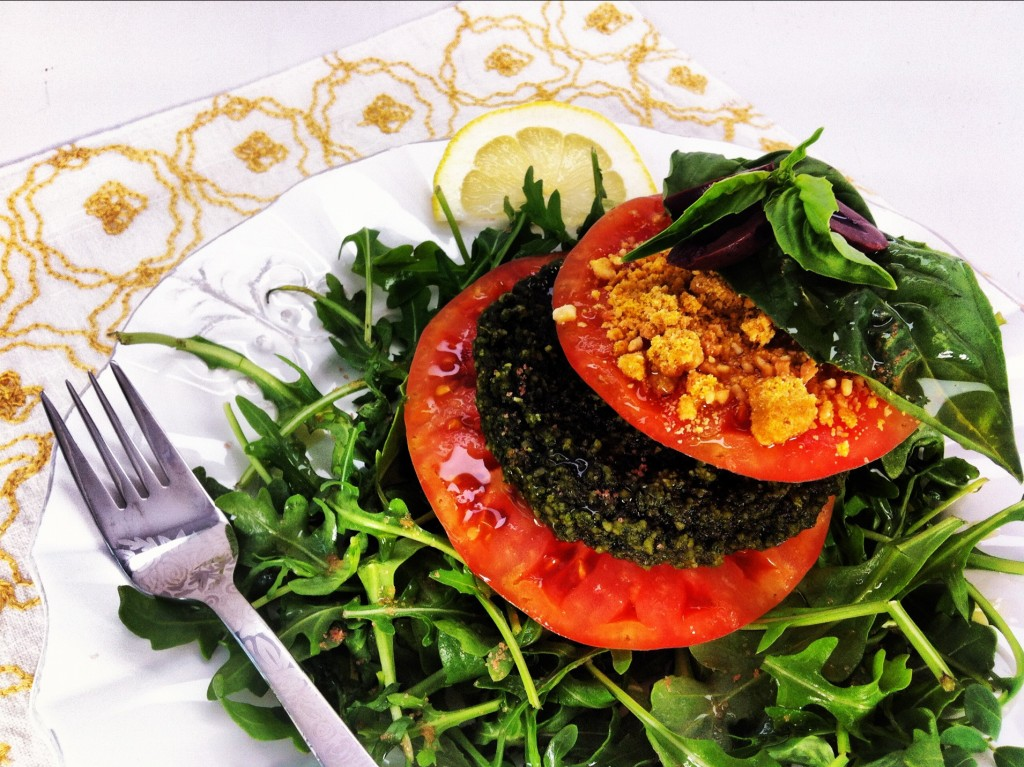 Heirloom Tomato Caprese Salad