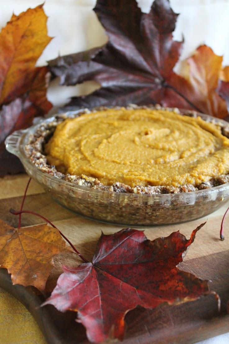 Raw Pumpkin Pie by This Rawsome Vegan Life