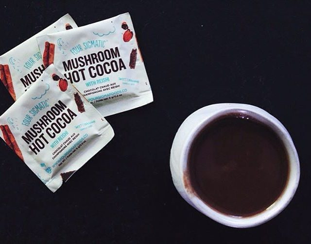 REISHI hot chocolate  my latest magic mushroom super healthhellip