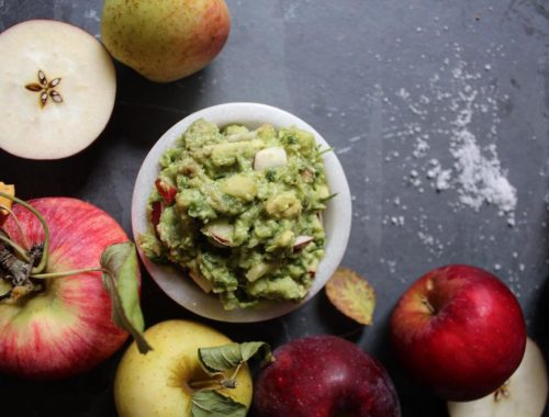 Chipotle Apple Guacamole