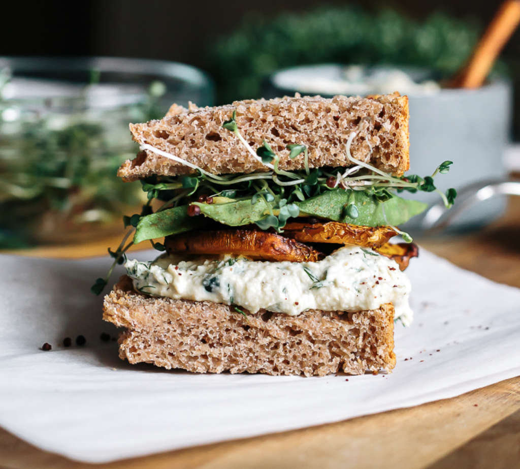 The Best Veggie Sandwich Ever