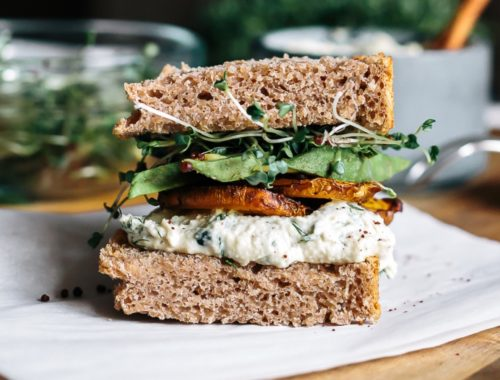 the best avocado veggie sandwich ever
