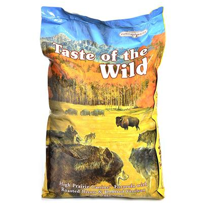 The best natural dog food taste of the wild