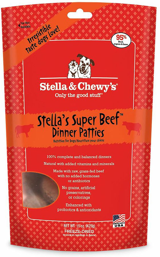 The best natural dog food stella & chewys