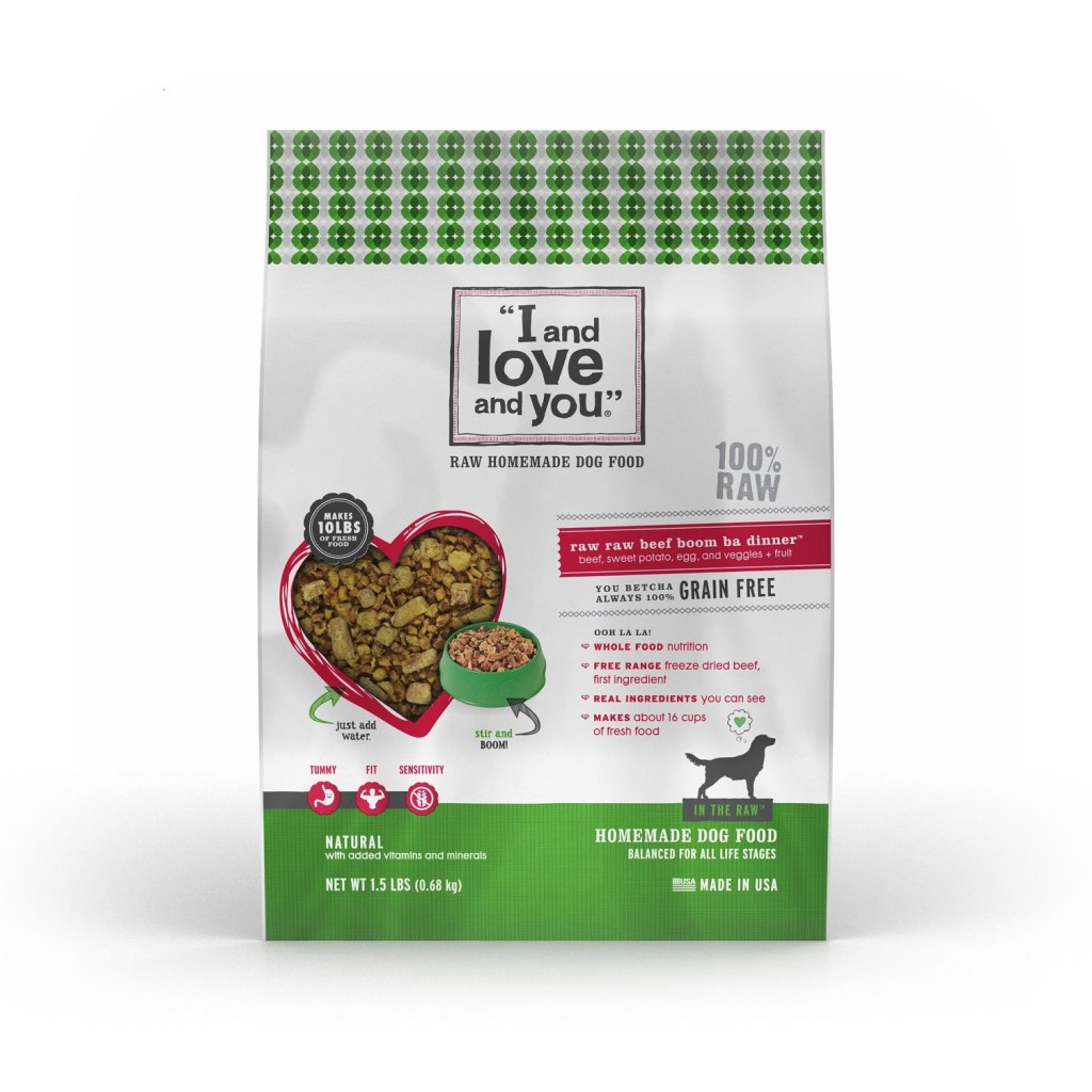 The best natural dog food i and love and you