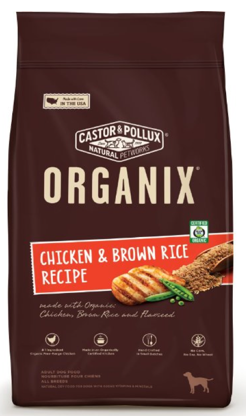 The best natural dog food organix