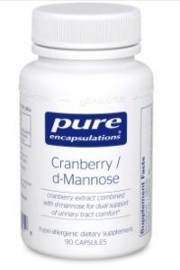 cranberry d-mannose supplement