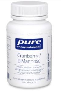 cranberry d-mannose supplement