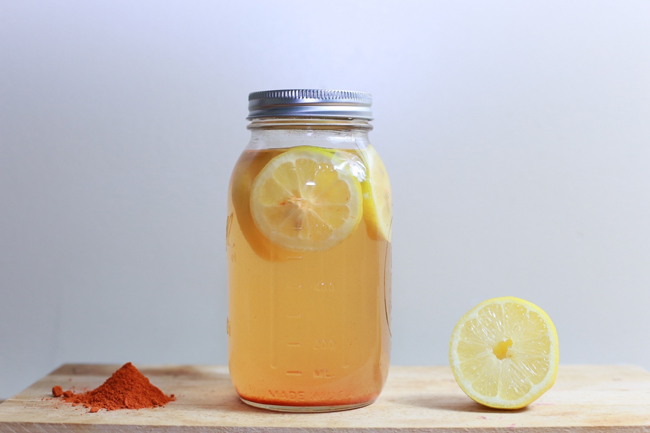 lemon water intestinal cleanse