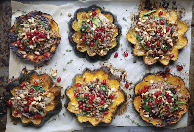 stuffed-acorn-squash-thanksgiving healthy gluten free