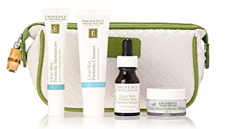 eminence clear skin acne best natural skin care products