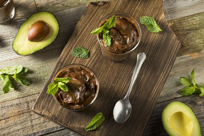 best post pregnancy snack avocado pudding